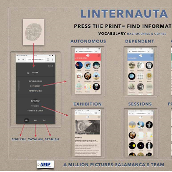 Linternauta: A web app for magic lantern slides